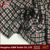 Fationable Plaid 84%Rayon 16%Tencel Fabric Textile for Garment Hangzhou China Market