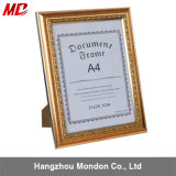 Gold, Olive, Mahogany Color Resin Leatherette Picture Diploma Frames