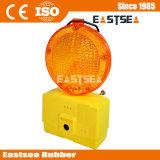 Yellow & Red Flashing LED Barricade Traffic Light