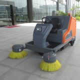 Automatic Electric Street Sweeping Vehicle