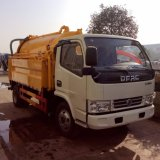 High Pressure Cleaning Truck with Suction Equipment for Sale