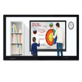 FHD 1080P magnetic board interactive flat screen 75inch with stylus