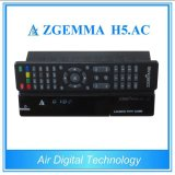 New Product H. 265 TV Decoder Zgemma H5. AC DVB S2 + ATSC