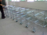 NSF Heavy Duty Adjustbale Metal Wire Hand Cart Trolley for Commercial Used