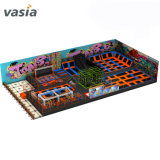 Professional Factory Extreme Sports Games Trampoline with Indoor Playground
