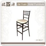 Modern Chiavary Bar Chair Aluminum/Iron Chair (JY-B117)