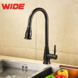 Wide Group Orb Black Touchless Pull-Down Kitchen Faucet