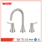 Deck Mounted 3 Hole 3 Piece Basin Faucet High Quality Dual Handle Basin Faucet for Sale
