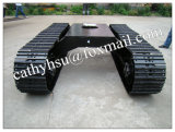 Custom Built Steel Track Crawler Undercarriage with Different Rubber Track Shoes