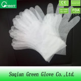 Clear Cheap TPE Cosmetic Gloves