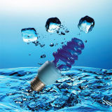 7W Blue Color Lamp Energy Saver CFL with CE (BNF-B)