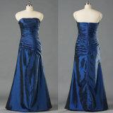 Ladies Strapless Taffeta Evening Gown Cheap Long Dresses E205