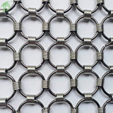 Various Style Beautiful Ring Curtain Mesh for Home Decoration