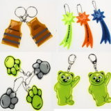 Promotional Gifts Discount Price Reflective Keychain with OEM Brand