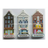 Customized Polyresin Souvenir Magnet Tourist Gift Home Decoration Figurine ODM Country City Famous Character Crafts