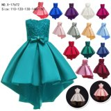 Personality Princess Dress Girl Party Dress Children to Wear Fashionable Clothes Satin Cloth Baby Girl Baby Clothes Garment 11 Colors in Stock Dresses
