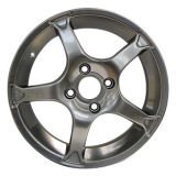 Aluminum Alloy Car Wheel with Via and TUV Certifications