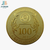 Top Sell Casting Antique 100 Souvenir Custom Gold Coin