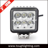 12V 24V 3inch 18W IP68 Waterproof LED Driving Work Lamp