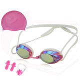 Best Swimming Goggles Swim Cap Set Non Leaking - Adjustable for Men Women Youth Kids
