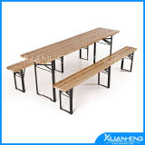 Foldable Wooden Beer Table Set