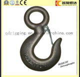 Hoist Safety Alloy Steel Grab Clevis Slip Hooks for Lifting Fishing