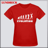 New Arrived Simple Women T-Shirts with Competitive Price