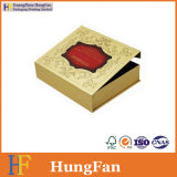 Golden Color Printing Packing Paper Jewelry Cosmetic Gift Box