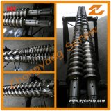 Conical Twin Screw Barrel for PVC Pipe