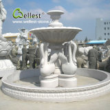 100% Hand Carved Natural Stone Granite Marble Outdoor Water Fountain