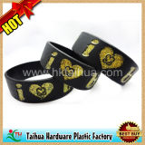 Fashion 1 Inch Silicon Wristbands Bracelet (TH-6921)