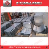 Sheet Metal Plate for Livestock Hay Feeder Feeding Devices
