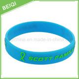 Wholesale Customized Logo Silicone Bracelets for Promotion