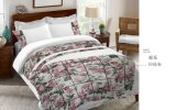 Dobby Print Cloth Patchwork Rose Flower Bedding Sets