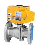 Electric Ball Valve -- GB Standard Flange Connection