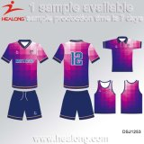 Sublimation Man Team Set Soccer Uniform Football Jersey