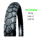 Cheap Popular Qualified Motorcycle Tyre in Sizes 2.75-17 3.00-18 100 / 90-17