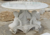 Natural Stone White Marble Statue SF-S-517 for Indoor Outdoor Decoration