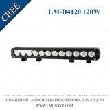 Lmusonu America Australia 4X4 Truck Auto Spare Parts CREE Straight Single LED Light Bar 120W LED Auto Light 20.5 Inch