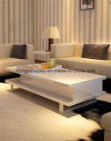 White Color Tea Table for Home Decoration