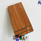 Wooden Wall Facade Coating Aluminum Composite Panel