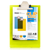 A4 Butterfly Clip Transparent Plastic Clipboard