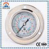 Water/Air Pressure Gauge Supplier Multifunction Pressure Gauge with Oil Filled