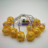 China Wholesale Party Decoration 220V Golden Strawberry Pendant LED String Light