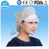 PP Nonwoven Worker Cap with Peak Disposable Worker Hat