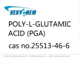 PGA CAS 25513-46-6 Poly-L-Glutamic Acid Pharmaceutical Cosmetic Food Additive