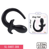 Dog Tail Butt Plug with TPE Material Massager