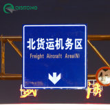 LED Light Solar Road Safety Oriented Traffic Sign Aluminum Board with Reflective Sheeting Manufacturerfactory Price