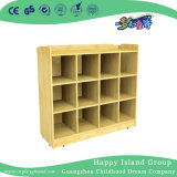Kindergarten Wooden Clothes and Shoe Cabinet on Stock (HG-4208)