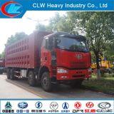50ton Faw 8X4 370HP LHD&Rhd Dump Truck Good Price